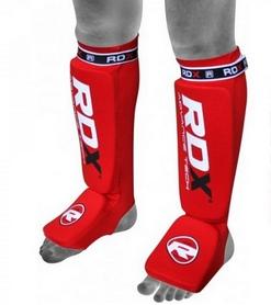 Защита для ног (голень + стопа) RDX Soft Red
