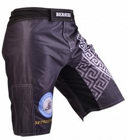 Фото 2 к товару Шорты для MMA Berserk Pankration Approwed WPC black