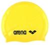 Шапочка для плавания Arena Classic Silicone желтая - фото 1