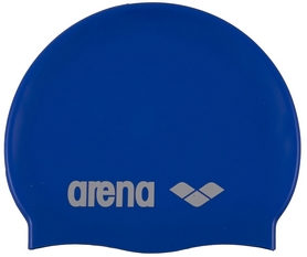 Фото 1 к товару Шапочка для плавания Arena Classic Silicone синяя