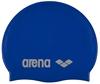 Шапочка для плавания Arena Classic Silicone синяя - фото 1