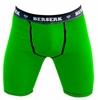 Шорты компрессионные с ракушкой Berserk Hyper Neon green - фото 1