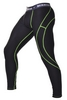 Штаны компрессионные с ракушкой Berserk Legacy green neon black - фото 2