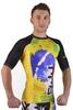 Рашгард Berserk Premier BJJ green/yellow - фото 3