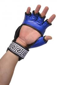 Фото 3 к товару Перчатки Berserk Sport Full for Pankration Approwed WPC 7 oz blue