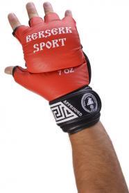 Фото 2 к товару Перчатки Berserk Sport Full for Pankration Approwed WPC 7 oz red