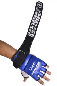 Фото 3 к товару Перчатки Berserk Sport Traditional for Pankration Approwed WPC 4 oz blue