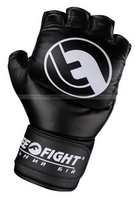 Перчатки для MMA Peresvit Free-Fight черные