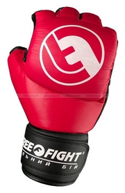 Перчатки для MMA Peresvit Free-Fight красные