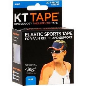 Фото 2 к товару Пластырь эластичный Kinesio KT Tape KTTP-003805-ME синий