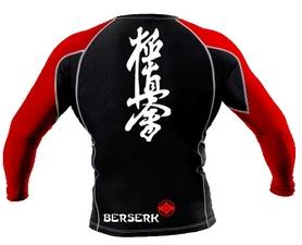 Фото 2 к товару Рашгард Berserk for Kyokushin black
