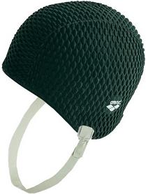 Шапочка для плавания Arena Gauffre черная