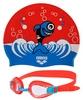 Набор для плавания Arena AWT Multi Set Blue-Red - фото 1