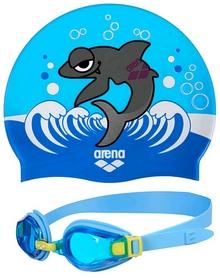 Фото 1 к товару Набор для плавания Arena AWT Multi Set Blue
