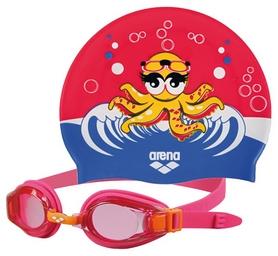 Фото 1 к товару Набор для плавания Arena AWT Multi Set Pink