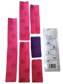 Фото 1 к товару Пластырь эластичный Kinesio Lumbar Vertebra KT Tape для позвоночника