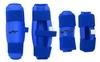 Защита для тхэквондо (предплечье+голень) ZLT BO-4382-B синяя (4 шт) - фото 2