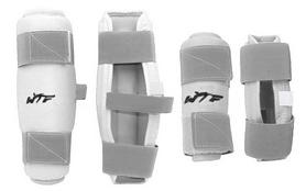 Защита для тхэквондо (предплечье+голень) ZLT BO-4382-W белая