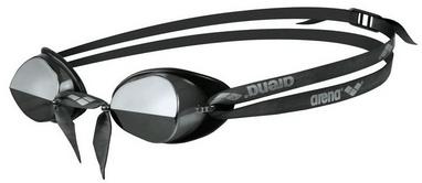 Очки для плавания Arena Swedix Mirror black-grey