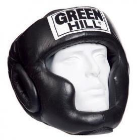 Шлем боксерский Green Hill Super черный