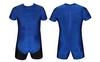 Трико борцовское, тяжелоатлетическое мужское Combat Budo CO-0716-BL синее