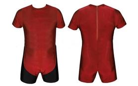 Трико борцовское, тяжелоатлетическое мужское Combat Budo CO-0716-R красное