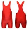 Трико борцовское, тяжелоатлетическое подростковое Combat Budo CO-238-R красное - фото 1