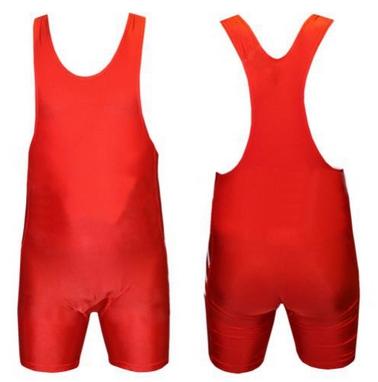 Трико борцовское, тяжелоатлетическое подростковое Combat Budo CO-238-R красное