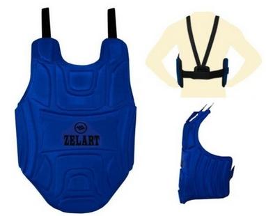 Защита груди (жилет) ZLT ZB-4220 синий