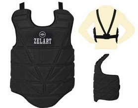 Защита груди (жилет) ZLT ZB-4222-BL, черная