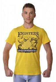 Футболка Berserk Ukraine Fighter yellow