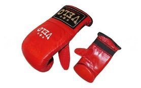Перчатки снарядные Velo ULI-4005-R красные