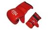 Перчатки снарядные Velo ULI-4003-R красные - фото 1