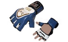 Перчатки для смешанных единоборств MMA ZLT ZB-6104-B синие