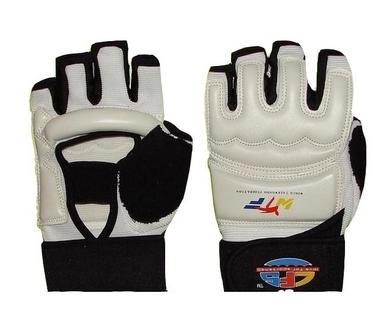 Накладки (перчатки) для тхэквондо ZLT BO-2310-W белые