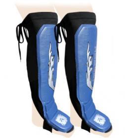Защита для ног (голень+стопа) ZLT ZB-7024-B синяя