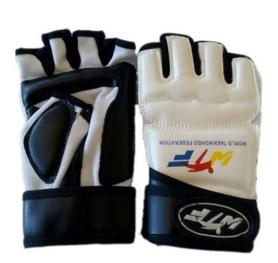 Распродажа*! Накладки (перчатки) для тхэквондо ZLT BO-4464-W белые - XL