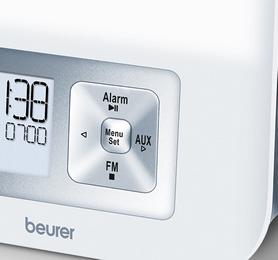 Фото 4 к товару Часы-светобудильник Beurer WL 70