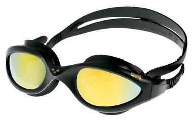 Очки для плавания Arena Imax Mirror золотые