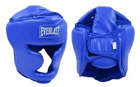 Шлем боксерский с полной защитой Everlast BO-4299-B синий