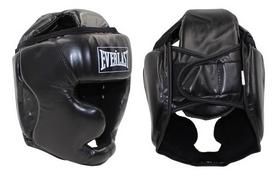 Шлем боксерский с полной защитой Everlast BO-4299-BK черный - M