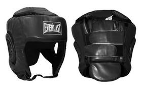 Распродажа*! Шлем боксерский Everlast BO-4492-BK черный - S