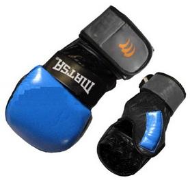 Перчатки для смешанных единоборств MMA Matsa ME-2011-B синие