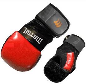 Перчатки для смешанных единоборств MMA Matsa ME-2011-R красные