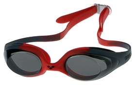 Фото 1 к товару Очки для плавания Arena Spider Junior красные