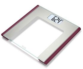 Фото 1 к товару Весы стеклянные Beurer GS 170 Ruby