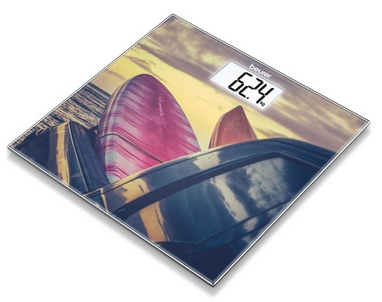 Весы стеклянные Beurer GS 203 Surf