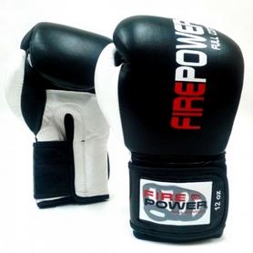 Перчатки боксерские Firepower FPBG2 черные