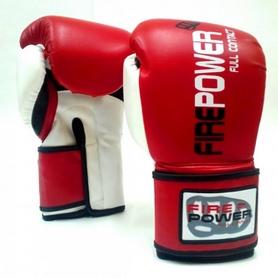 Перчатки боксерские Firepower FPBG2 красные