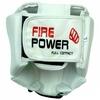 Шлем для соревнований Firepower FPHG2 белый - фото 3